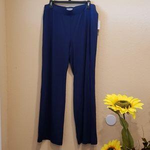 Navy blue women pants
